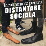 Pantofi de distanţare socială