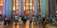 Sagrada Familia redeschisă