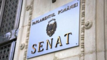 senatul româniei bani