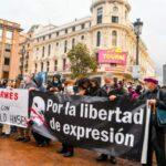 libertatea de exprimare spania