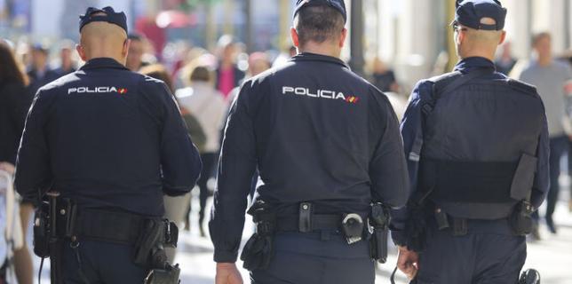 politisti spania