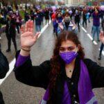 protest femei spania