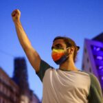 Samuel Luiz protest