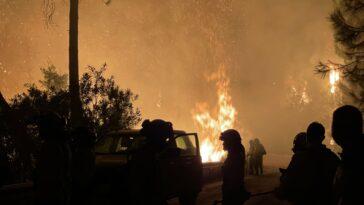 incendiu sudul spaniei